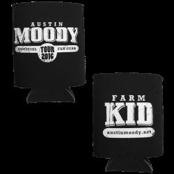 Austin Moody Black Koozie