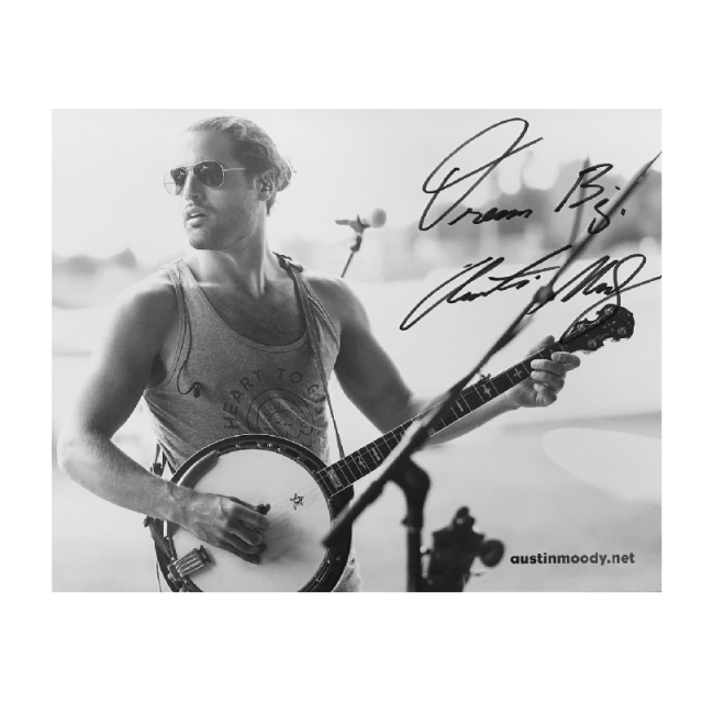 Austin Moody Autographed 8x10